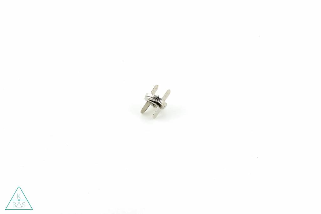 Dunne magneetsluiting Nikkel 10mm