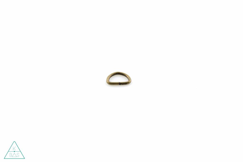 D-ring Brons 10mm