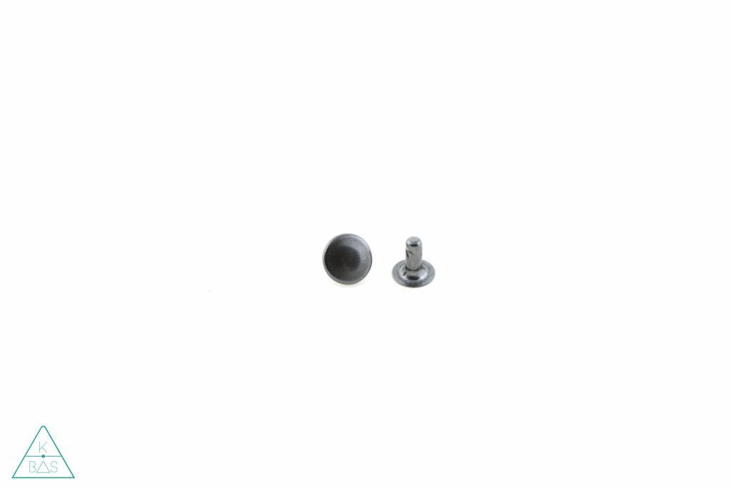 Holnieten Zwart 9mm (10st)