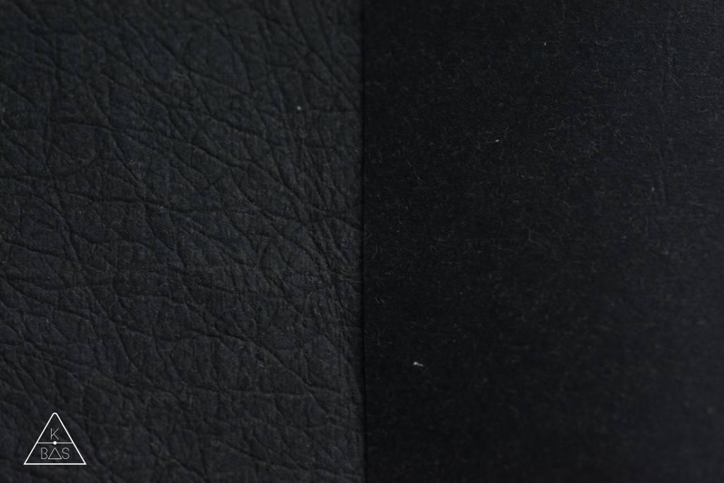 Voorbehandelde kraft-tex Zwart