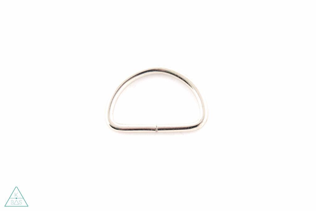 D-ring Nikkel 38mm