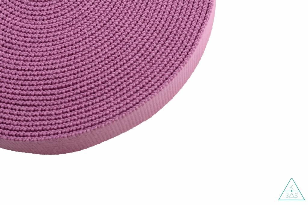Katoenen tassenband bubblegum 30mm