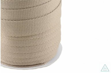 Tassenband Zand 25mm