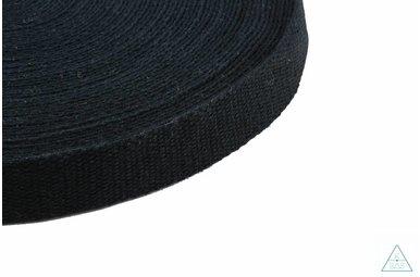 Tassenband Zwart 25mm