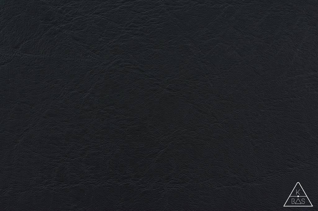 k-bas Kunstleer Zwart
