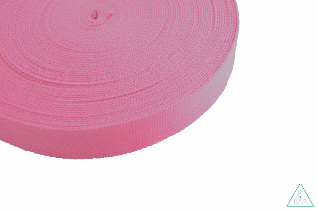 Katoenen tassenband bubblegum 38mm