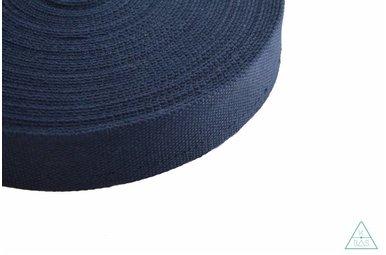 Tassenband Donkerblauw 32mm