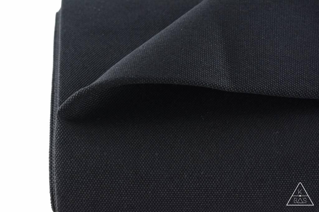 k-bas Tassenstof Zwart