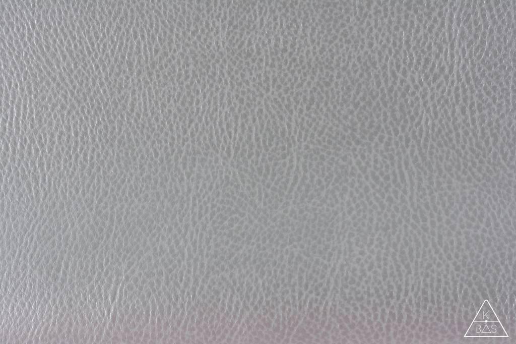 k-bas Kunstleer Metallic Zilver