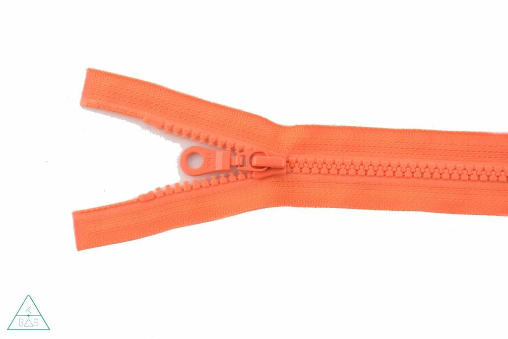 YKK Deelbare Bloktandrits 25cm Oranje