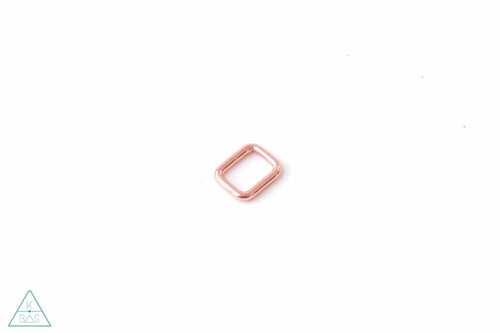 k-bas Passant Rechthoekig  Rosé Goud 20mm