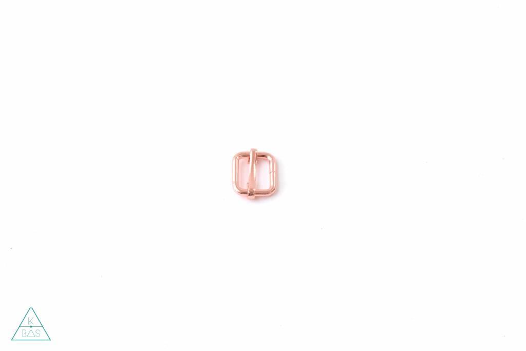k-bas Schuifgesp Rosé Goud 15mm