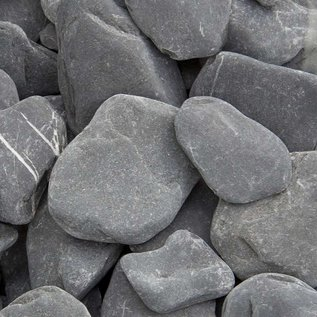 Flat Pebbles Black