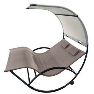 Double Chaise Rocker™ - Aluminium