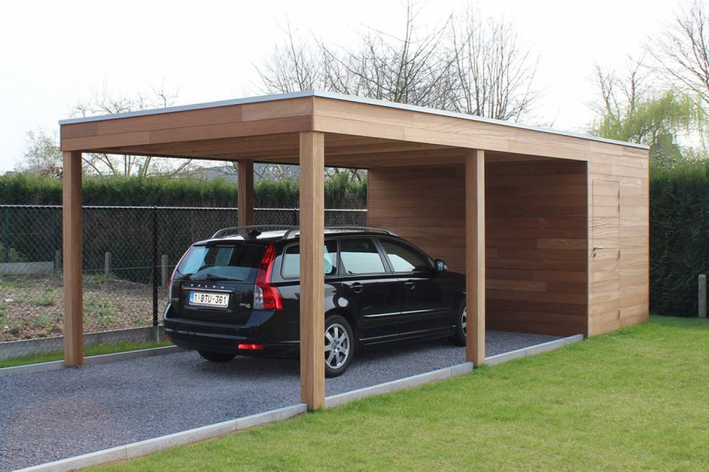 Permalink to Carport An Garage