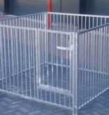 KLD Kennel, puppyren compleet 150 x 150 x 95 cm.