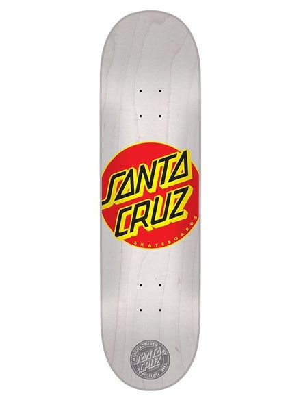 Santa Cruz Santa Cruz Classic Dot White 7.7