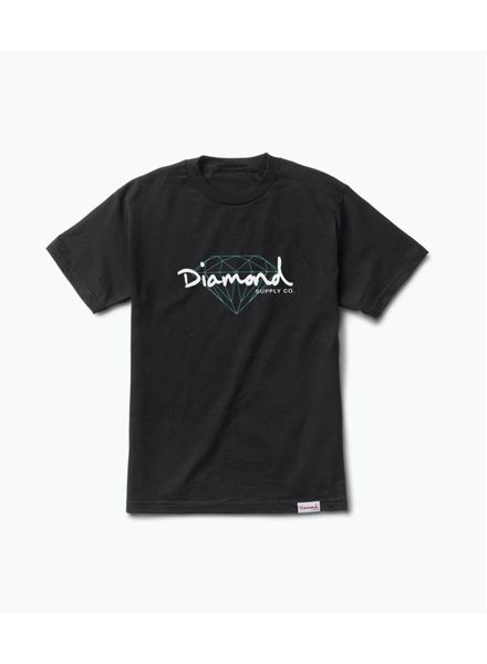 Diamond Diamond Brilliant Script Tee