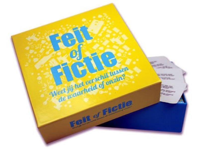 Koelkastpoëzie Party Game 'Fact or Fiction' (dutch version)