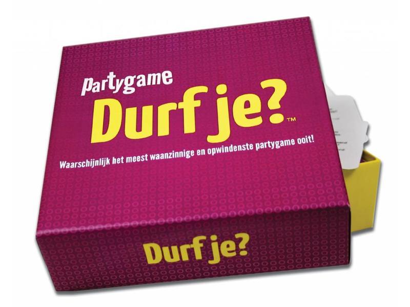 Koelkastpoëzie Party Game 'Do You Dare?' (dutch version)