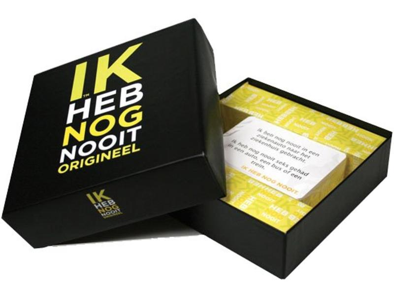 Koelkastpoëzie Party Game 'Je n'ai jamais...' (version néerlandaise)