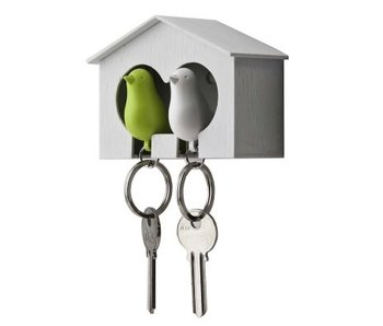 Nichoir & 2 Porte-Clés 'Sparrow'
