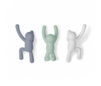 Porte-Manteau 'Buddy Hooks' (3 couleurs)