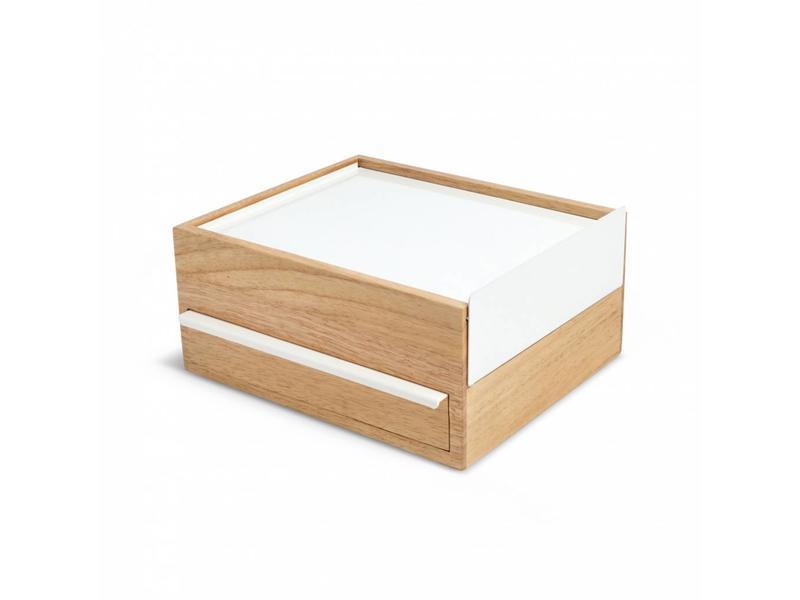Umbra Juwelenbox 'Stowit' (wit)