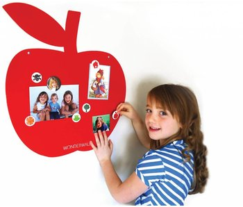 Magneetbord 'Appel' (rood)