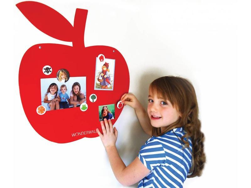 Wonderwall Tableau Magnétique 'Pomme' (rouge)
