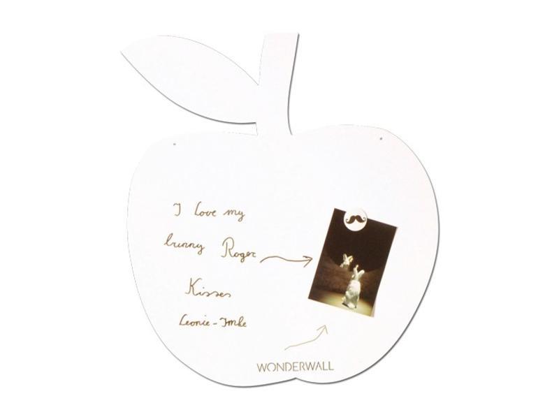 Wonderwall Tableau Magnétique et à Ecrire 'Pomme'