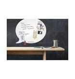 Wonderwall Magnetic Board & Whiteboard 'Speech Balloon XL'