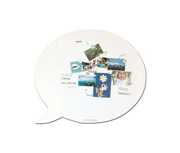 Magnetic Board & Whiteboard 'Speech Balloon XL'