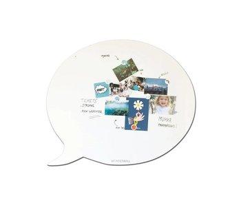 Magnetic & Whiteboard 'Tekstballoon XL'