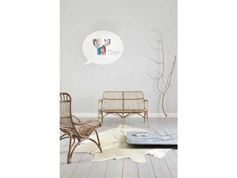 Wonderwall Magneet- en Schrijfbord 'Tekstballon' (XL)