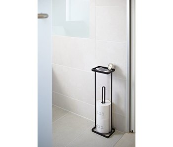 Toilet Paper Holder 'Open Tower' (black)