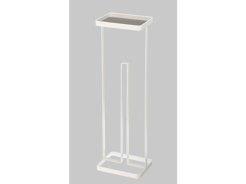 Yamazaki  Toilet Paper Holder 'Open Tower' (white)