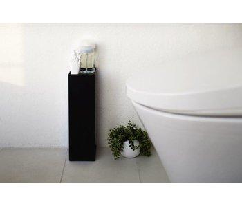 WC-Rolhouder 'Closed Tower' (zwart)