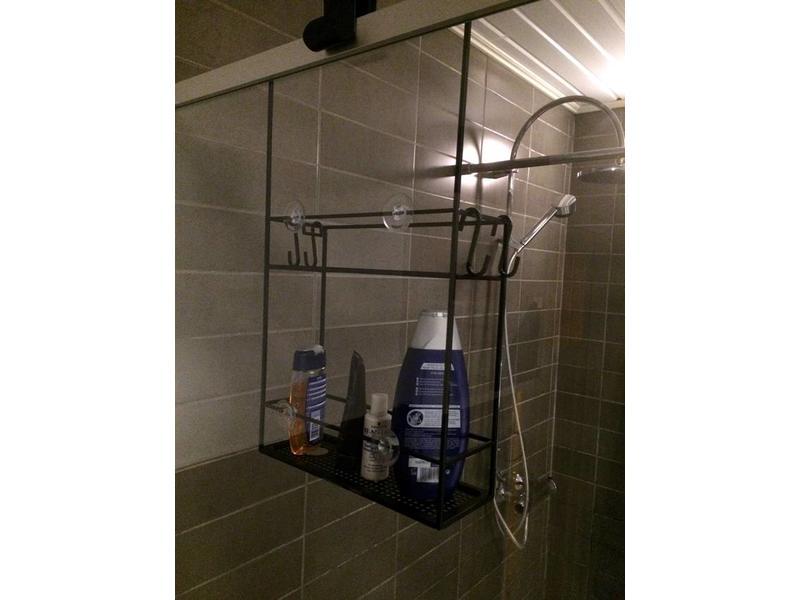 Umbra Shower Rack 'Cubiko' (black)