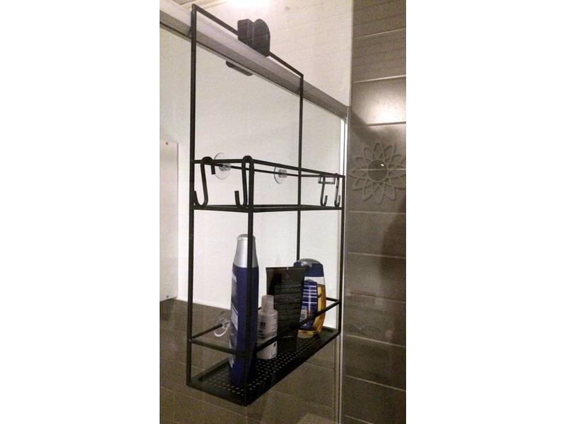 Badkamer Accessoires Action : Action doucherek. latest planchetten badkamer met zuignappen