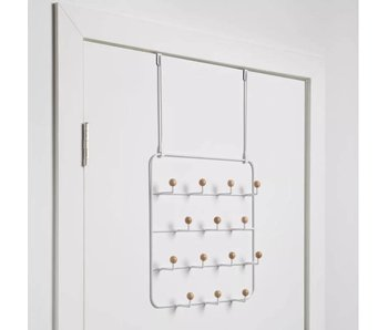 Wand- of Over-de-deur Organizer 'Estique 14 Hooks'