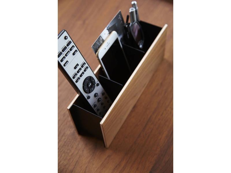 Yamazaki  Pen & Remote Rack 'Rin' (brown)