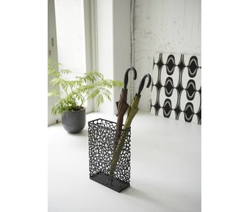 Umbrella Stand 'Nest' (black)