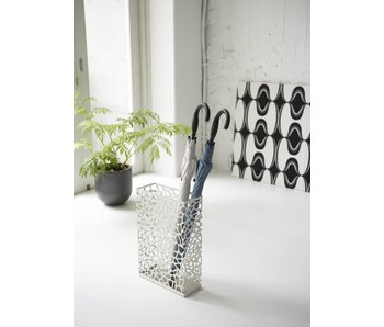 Umbrella Stand 'Nest' (white)