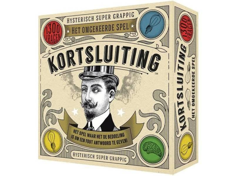 Koelkastpoëzie Party Game 'Short Circuit' (dutch version)