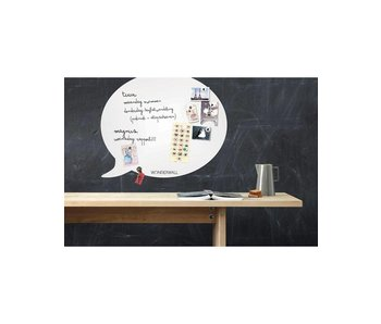 Magnetic Board & Whiteboard 'Speech Balloon' (L)