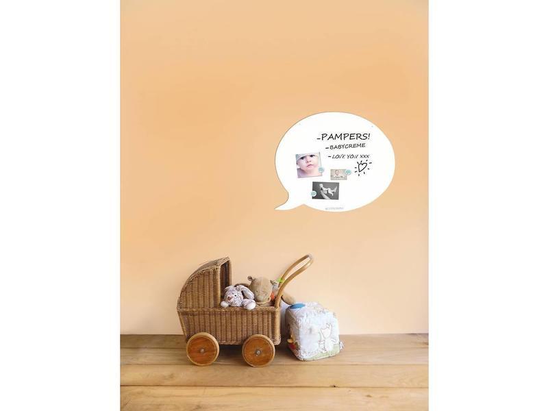 Wonderwall Magnetic Board & Whiteboard 'Speech Balloon' (L)