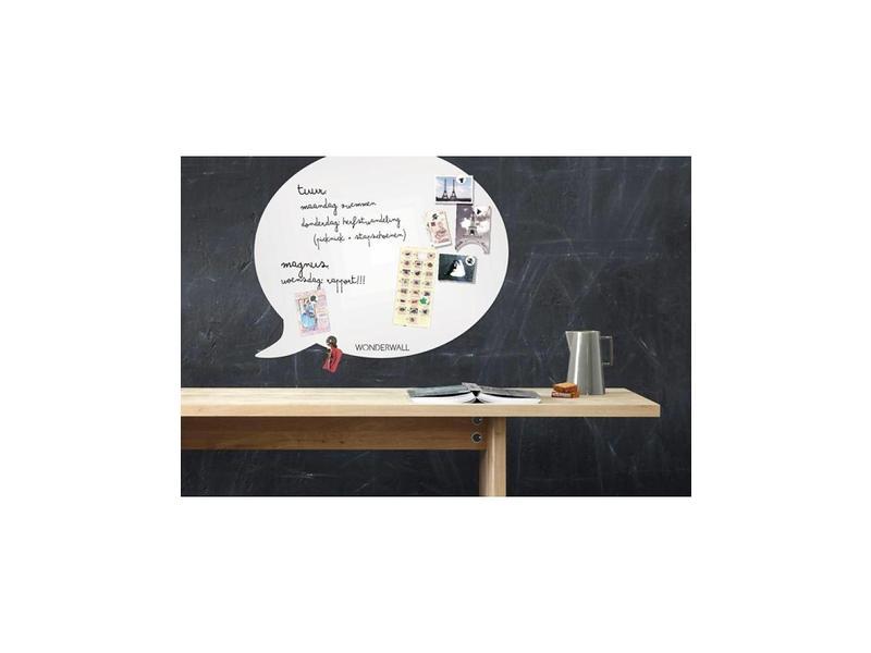 Wonderwall Magneet- en Schrijfbord 'Tekstballon' (medium)