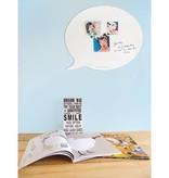 Wonderwall Magnetic & Whiteboard 'Tekstballoon Medium'