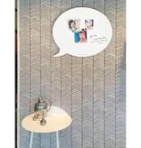 Wonderwall Tableau magnétique et à Ecrire 'Infobulle Medium'